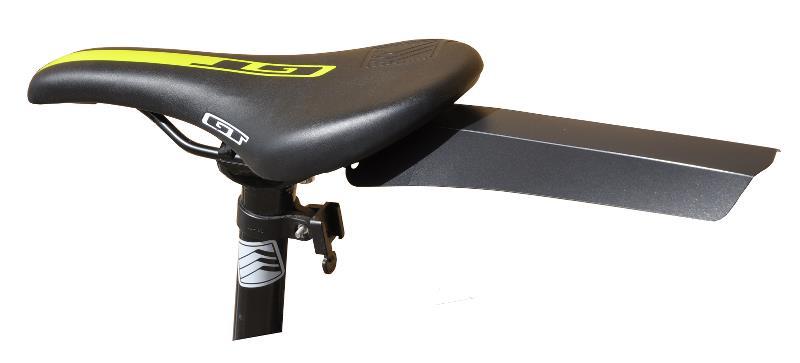 Bikepartner - Smart-fix - Bagskærm - Clip On - Sort | Skærme