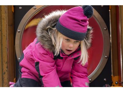 Didriksons Björnen Kids Coverall - Flyverdragt - Pink