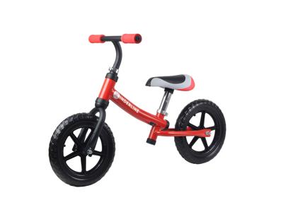"""Kinderline II - Løbecykel - Med 12"""" EVA foam dæk - Rød"""