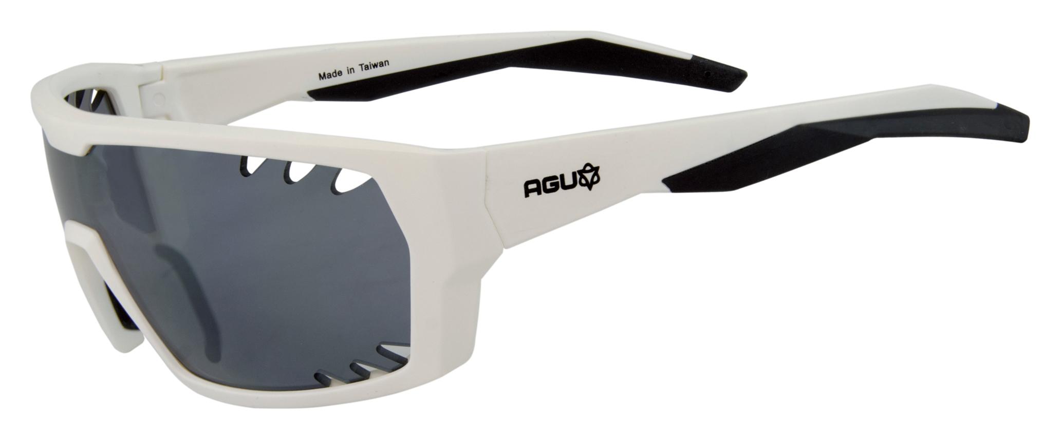AGU Beam - Sports- og cykelbrille - Hvid | Glasses