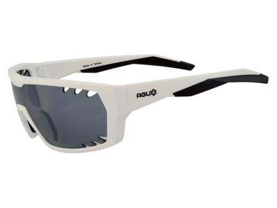 AGU Beam - Sports- og cykelbrille - Hvid