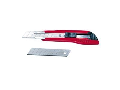Hobbykniv Würth stor med metalskinne og automatisk lås