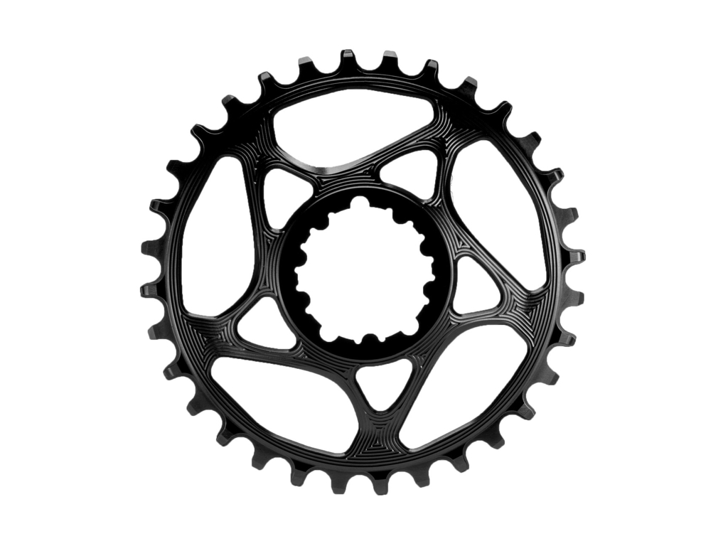 Image of absoluteBLACK Rund klinge - Sram - Direct mount - 28 tænder - Sort