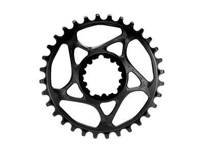 absoluteBLACK Rund klinge - Sram - Direct mount - 34 tænder - Sort