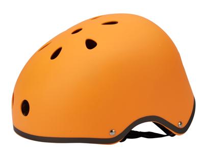 Micro Mini Cykelhjälm - Orange matt - Str. 53-58 cm - Skate med hårt skal