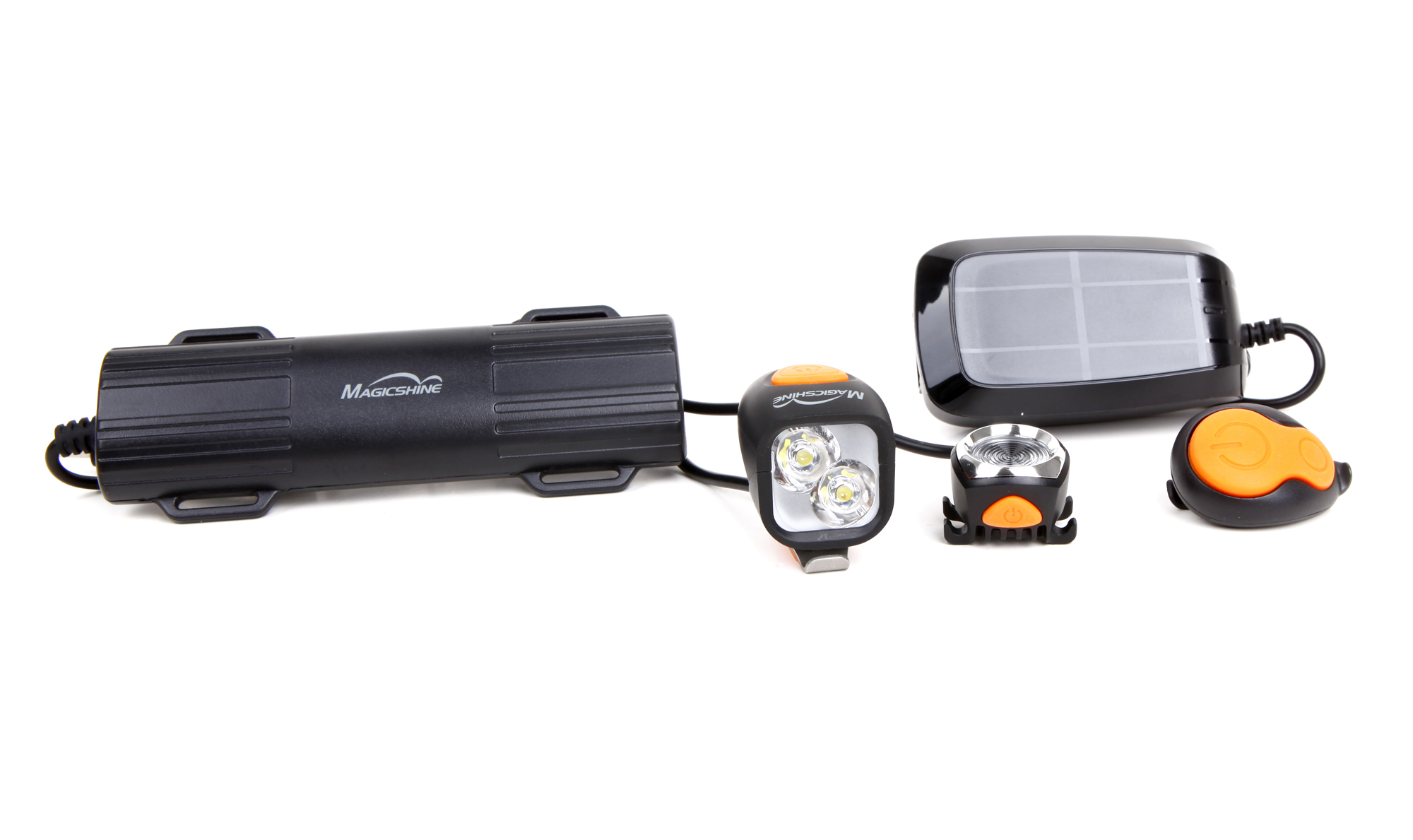 Magicshine - MJ-902 - Lygtesæt - 2000 lumen - USB opladelig | Light Set