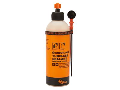 Orange Seal Endurance - Tubeless væske - 237 ml. - Inkl. påfyldningssystem