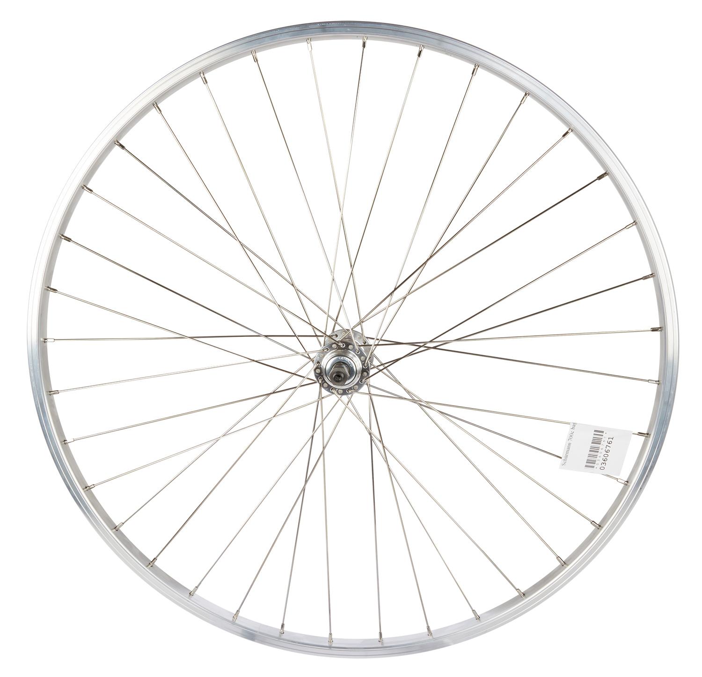 Schürmann 700c baghjul - Aluminiumsfælg - Skruekrans - Quick Release - Sølv | Rear wheel