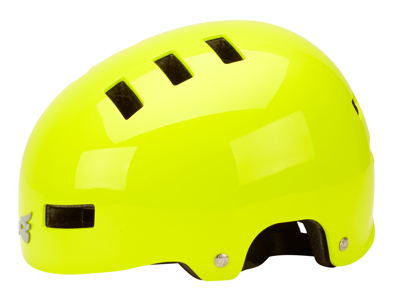 Bluegrass Super Bold - Bike and Skater Helmet - Hi-Vis Yellow