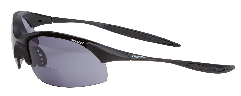 Demon 832 - Løbe- og cykelbrille 832 med +2,00 læsefelt - sort   Glasses