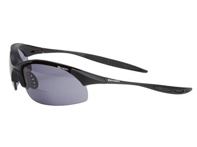 Demon 832 - Løbe- og cykelbrille 832 med +2,00 læsefelt - sort