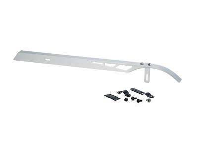 Bike Attitude - Kedjeskydd - Aluminium/silver inkl. beslag