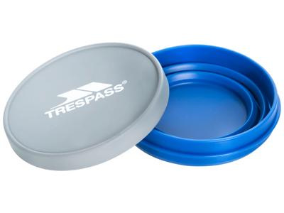 Trespass Miska 500 - Silicone-skål - 500 ml. 12 x 7,5cm - Blå