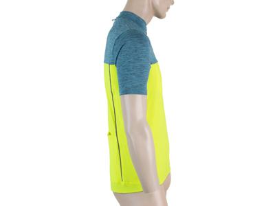Sensor Motion FZ Jersey - Cykeltrøje med korte ærmer - Blå/Gul
