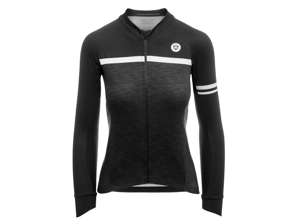 Image of   AGU Jersey LS Essential Blend - Dame cykeltrøje - Grå - Str. L