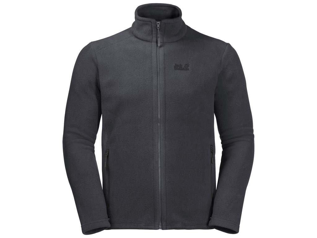 Jack Wolfskin Midnight Moon Fleece Jakke - Hr. Str. M - Ebony thumbnail