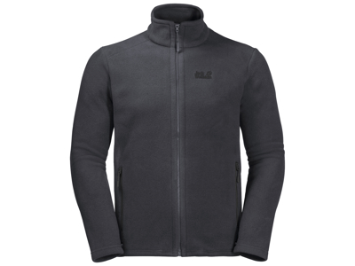 Jack Wolfskin Midnight Moon Fleecejacka - Män - Coke Grey