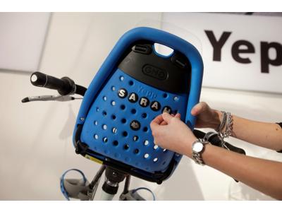 Abc och tal serie till Yepp cykelstol
