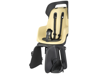 Bobike Go - Cykelstol till pakethållare - Sandfärgad