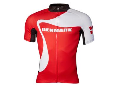 Assos SS Jersey - Cykeltröja Danmark - Röd