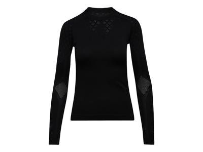 Diadora L. LS T-shirt ACT - Svedundertrøje Lange Ærmer - Dame - Sort/Grå - Str. L/XL