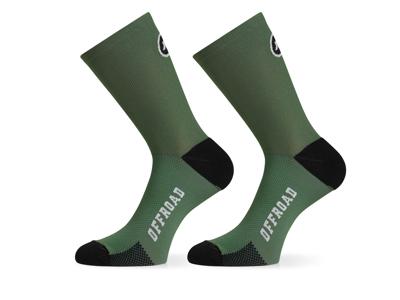 Assos XC Socks - Cykelstrømpe - Grøn