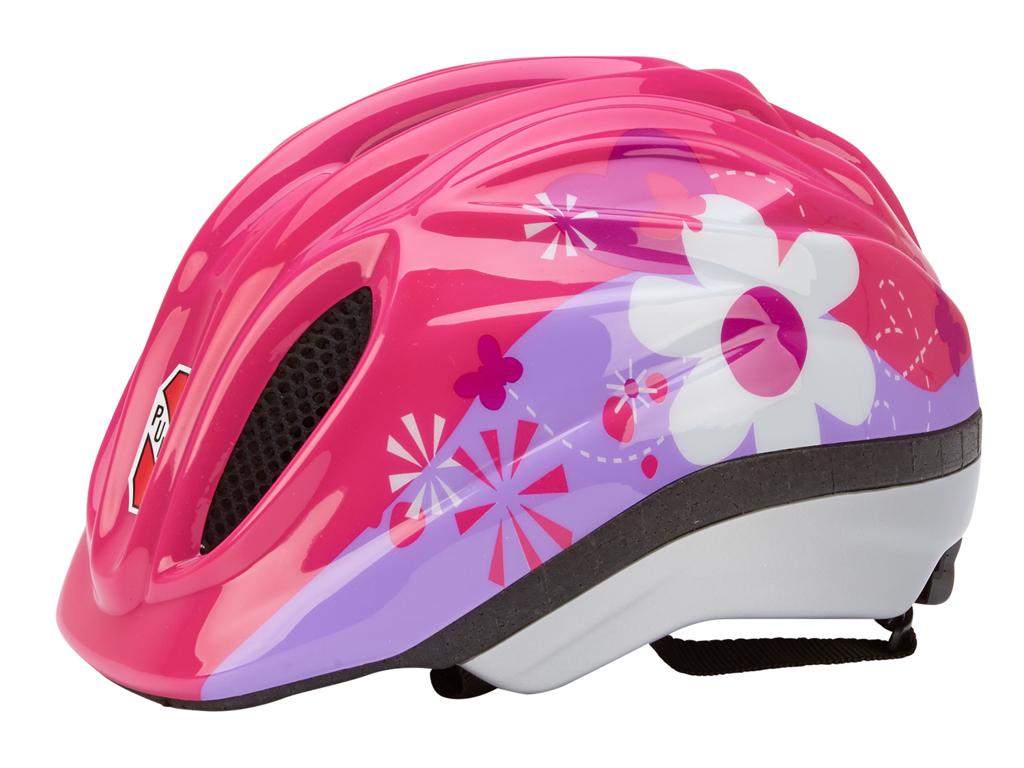 Puky PH 1 - Cykelhjelm - Str. 46-51 cm - Pink med motiv thumbnail