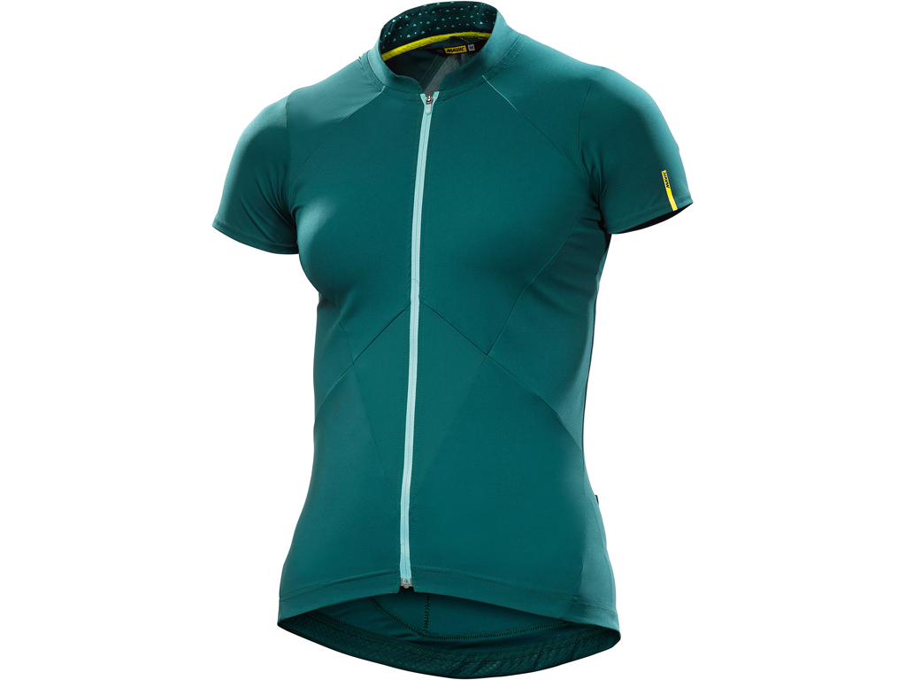 Image of   Mavic Sequence Jersey- Dame cykeltrøje - Mørkegrøn - Str. XL