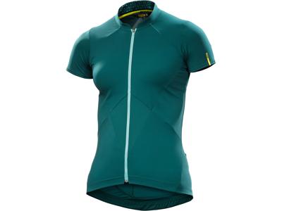 Mavic Sequence Jersey - Cykeltrøje med korte ærmer - Dame - Mørkegrøn