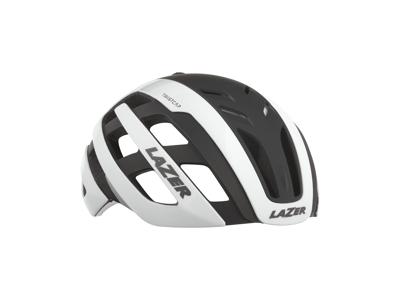 Lazer Century MIPS - Cykelhjelm Road med lys - Hvid/Sort