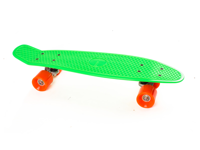 Skateboard My Hood Cruiser - Lime/Orange