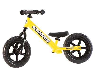 Strider Sport - Løbecykel - Gul