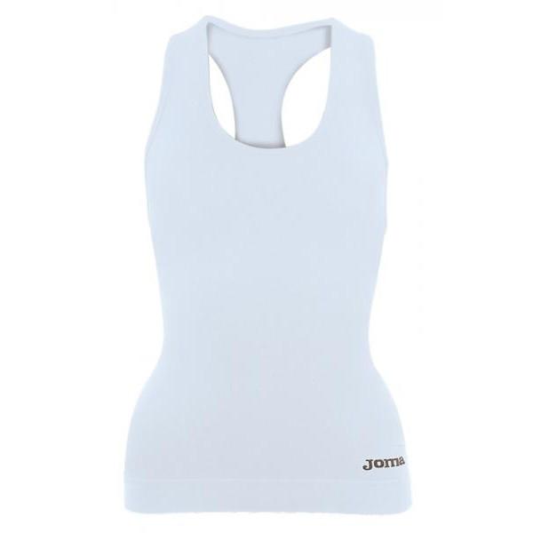 JOMA - Brama Løbetop til dame - Hvid | Base layers