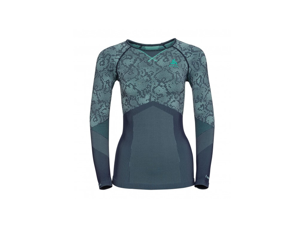 Image of   Odlo - Blackcomb evolution warm shirt - Dame - Mint