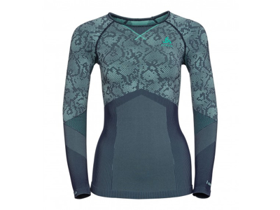 Odlo - Blackcomb Evolution Warm Shirt - Dame - Mint