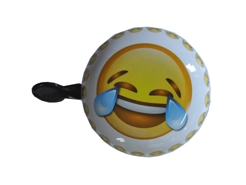 Emoticon tears - Ringklocka - Gråter av skratt smiley