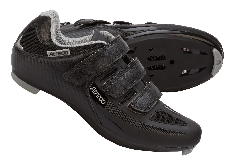 Atredo - Spinningsko/cykelsko - Sort   Shoes and overlays