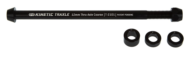 Kinetic 12 mm Thru-aksel - Til hometraine - Grov gevind | Quick release