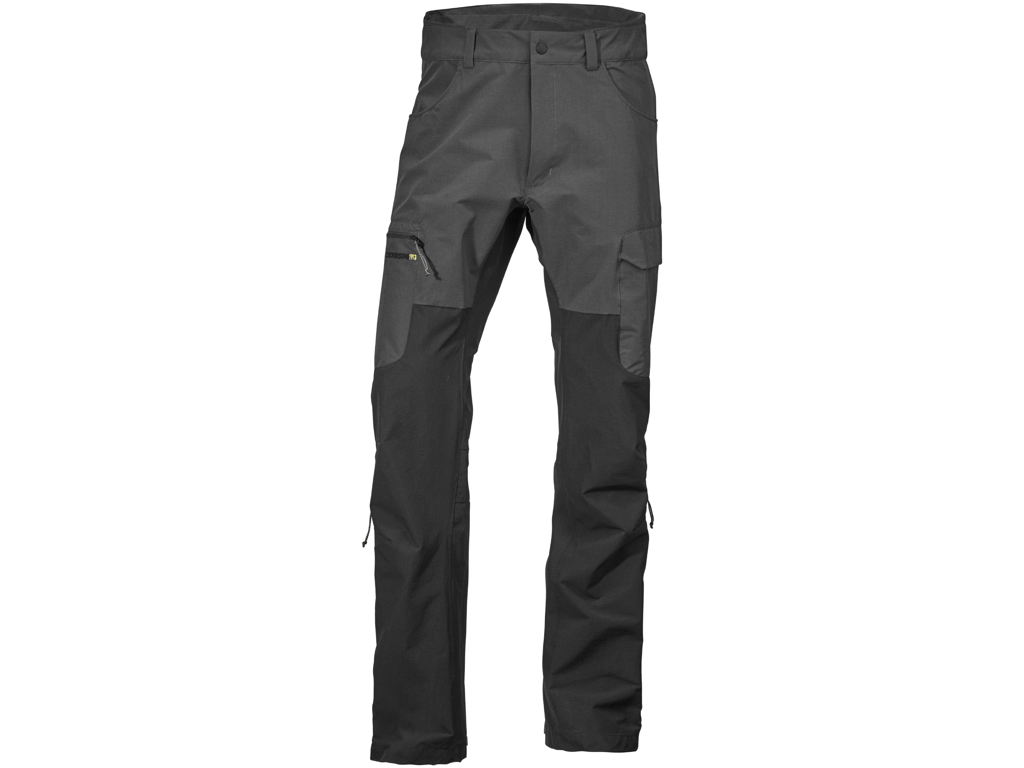 Image of   Didriksons Spencer Mens Pants - Softshellbukser Mand - Grå/Sort - L