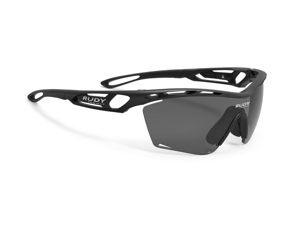 Image of   Rudy Project Tralyx Slim - Løbe- og cykelbrille - Smoke Sort