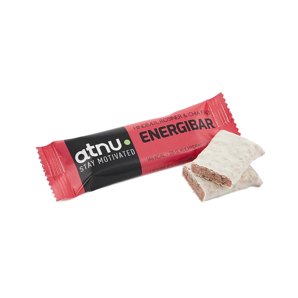 Atnu Energibar - Hindbær - 40 gram | Energy bar