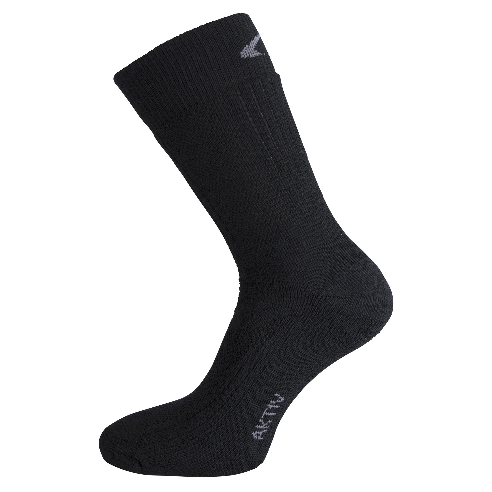 Ulvang Aktiv - Mediumtyk uldsok - Sort | Socks