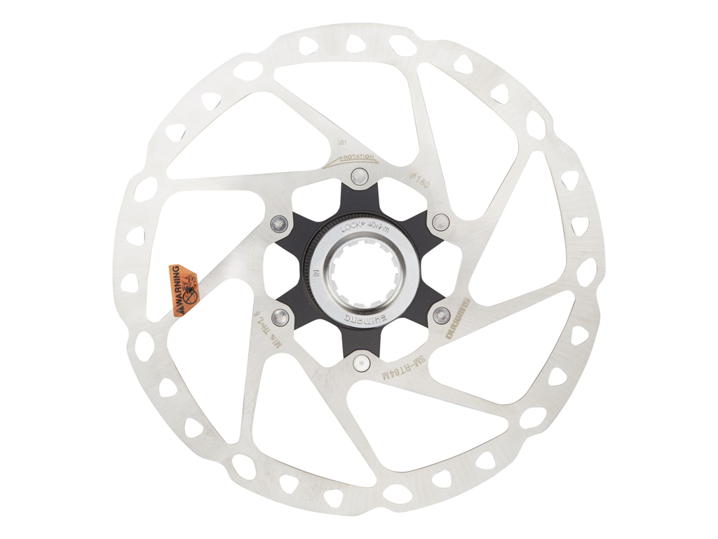 Image of   Shimano SLX - Rotor for skivebremser 180mm til center lock