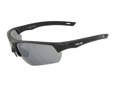 AGU Medina Bifocal - Cykelbrille med læsefelt og 3 sæt linser - Sort