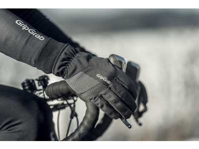 GripGrab Ride Winter - Vintercykelhandske - Sort