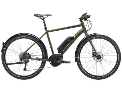 Kona - Dew-E - El-Cykel - Grøn