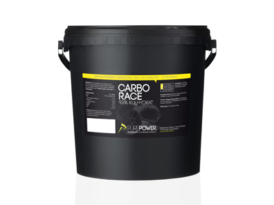 PurePower - Carbo Race - Energidryck - Lemon - 5 kg.