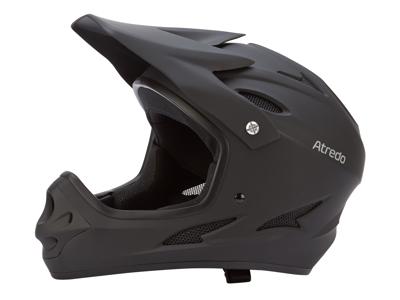 Atredo - Skull - Hjelm - Fullface - Matsort - 57-61 cm - Large