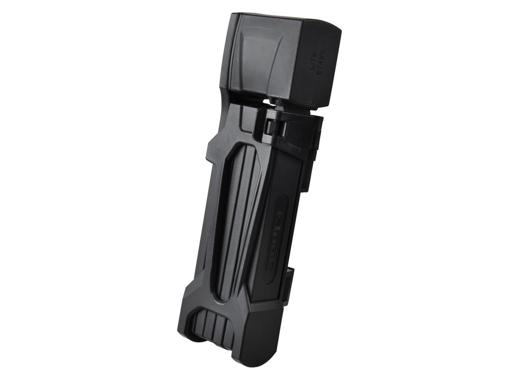 Etook - ET480 - Foldelås - 4 mm - 75 cm lang - Med 2 nøgler - Sort thumbnail