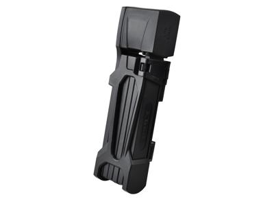 Etook - ET480 - Foldelås - 4 mm - 75 cm lang - Med 2 nøgler - Sort